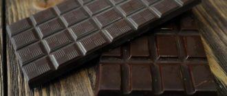 горький шоколад польза и вред