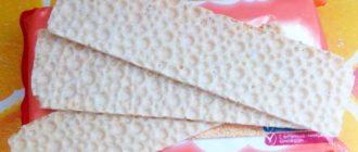 польза и вред вафельных хлебцев