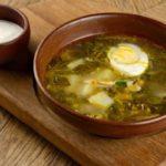 Польза и вред супа, щи, борща из щавеля