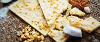 белый шоколад польза и вред для здоровья