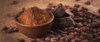какао порошок польза для мужчин