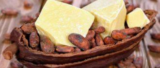 какао масло польза для кожи