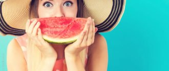 польза арбуза для организма женщины