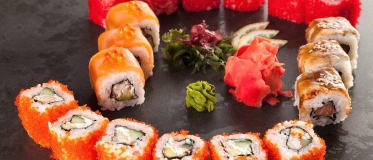 роллы и суши отличия